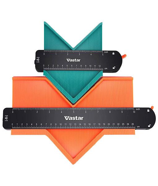 Vastar 2 Stücke Profillehre