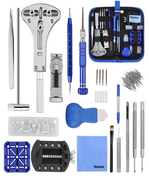 Vastar 177PCS Kit Riparazione Orologi