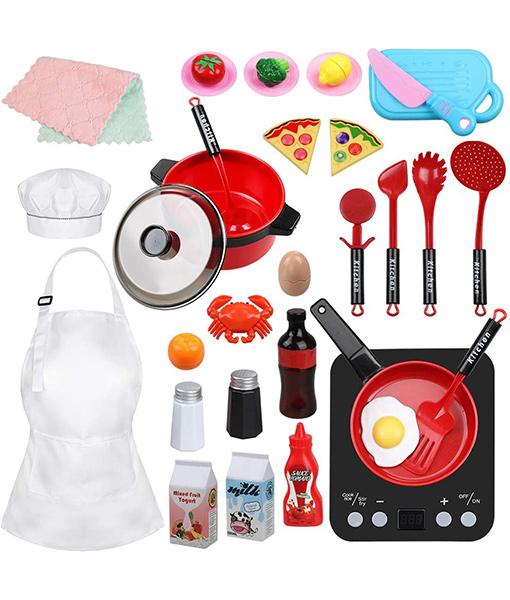 32pcs Play Kitchen Toys Set
