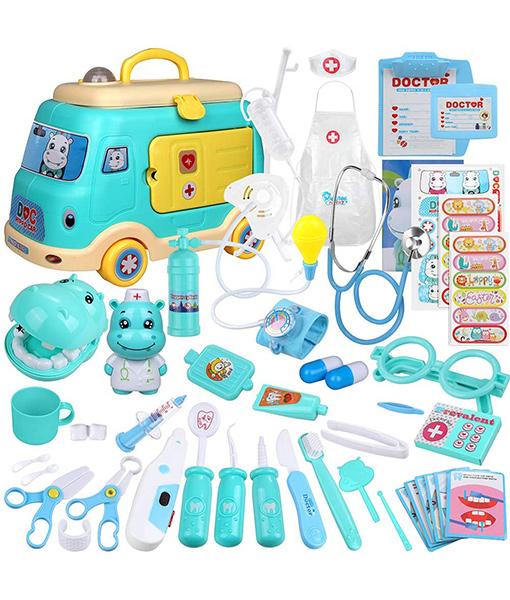 Car Model Doctor Toy Set
