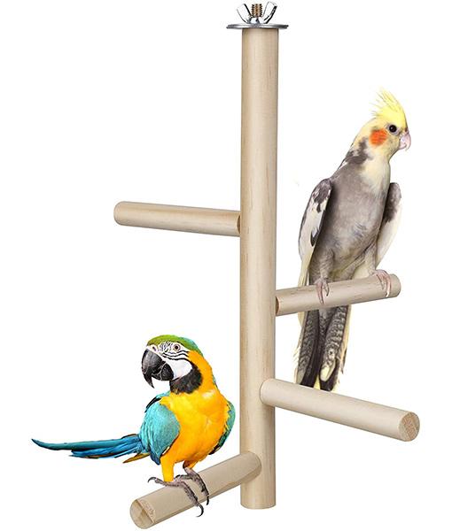 Bird Perch Stand Toy